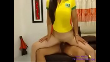 sexy brazilian wanted to get her two holes.