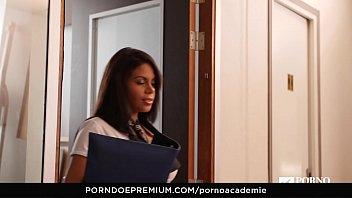 porno academie - busty venezuelan beauty kesha ortega.
