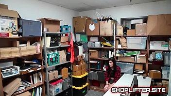 interrogating busted stupid shoplifting teen
