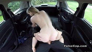 fake cop caught blonde with stolen.