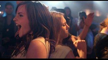 emma watson sexy dance   tongue clip.