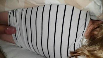 cum on sleeping wife again
