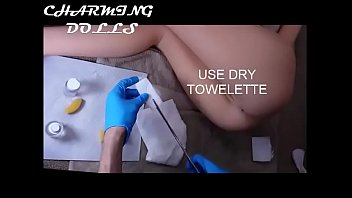 charming doll anal canal cleaning