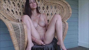 cute girl with big tits masturbating.