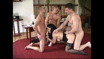 old and young foursome for chubby mature milf.