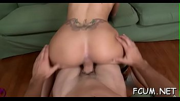 hammering session makes shaved love tunnel explode from orgasms