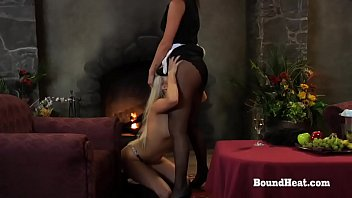 disappeared on arrival: maid and mistress pleasured by.