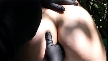 submissive girl is fingering anal fuck
