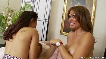 horny cowgirls isis love and monique fuentes ride.