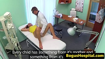 uniform doctor exams babes pussy with.