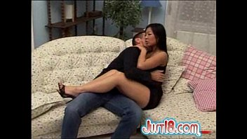 cute asian teen gets anal drilled