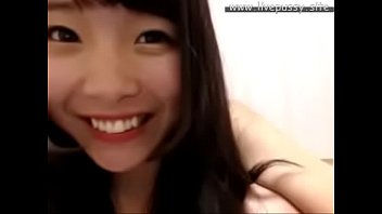 super cute japanese girl enjoying herself with sex.