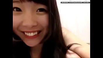 super cute japanese girl enjoying herself with sex.