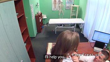 slim patient bangs doctor till orgasm