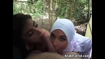 actual arab hookers sucking gi dick together on.