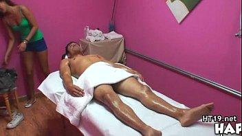 big tit asian hot massage and.