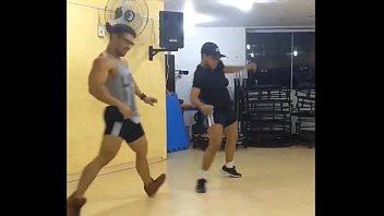 sexy brazilian muscle hunk dancing at.