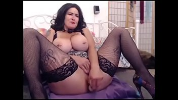 hot busty girl toys wet pussy