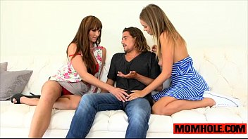 awesome threesome action with teen alexis adams and.