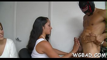 cute darling receives unfathomable drilling in front of.