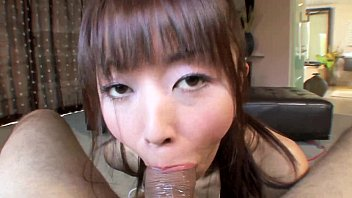 asian gets facial after squirting with.