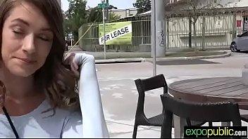 teen european girl (kirsten lee) easy seduced and.