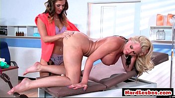 steamy lesbian orgy with strapons 11