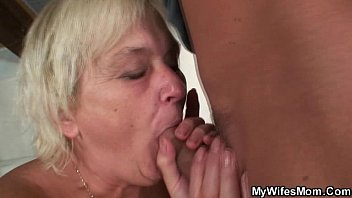wife catches him fucking her old.