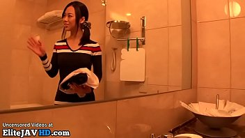 jav hostess sucks a small dick in pantyhose.