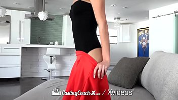 castingcouch-x spread legs wide for casting.