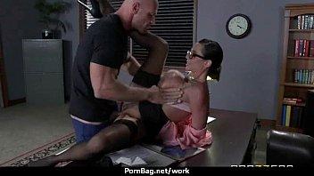milf fucks men while husband works.