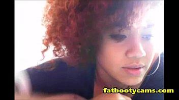 ratchet ebony cums for me -.