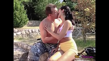 horny teen lady dee lets old guy pleasure her