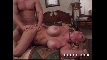 tan blonde gets anal