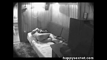 hidden cam catches my kinky cousin masturbating on bed