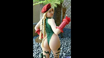 cammy of street fighter hot cosplay