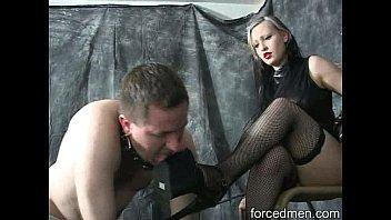 mistress completely dominates her slave turned.