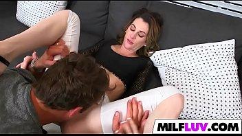 huge penis surprise for milf jordyn.