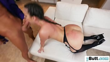 lucky skinny lad romancing beautiful smooth ass braided.