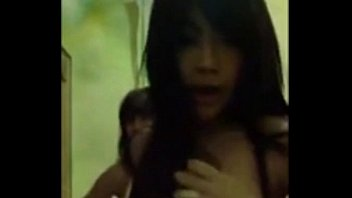 two hot young teen thai girl show webcam.