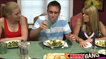 busty stepmom kristal summers threesome with.