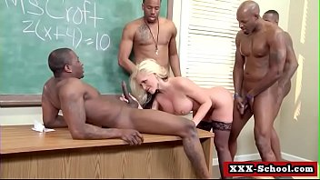 big boobs fucked at school by student and.