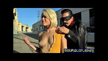 ash hollywood - hot platinum blonde gash flasher pt.2