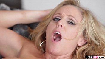 busty blonde milf julia ann gets a bbc drilling