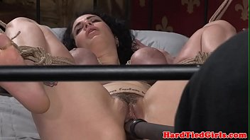 busty sub spanked and toyed by.