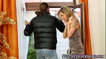 clothed euro cum covered