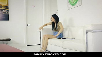 familystrokes- step brother and sister sneak fuck next.