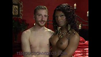 black tranny sucks small white dick to bound.