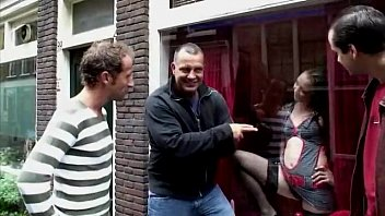 2 amateur guys meet and pay dutch hooker.