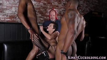 domina rides black cocks